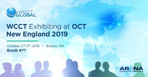 WCCT exhibiting at OCT New England